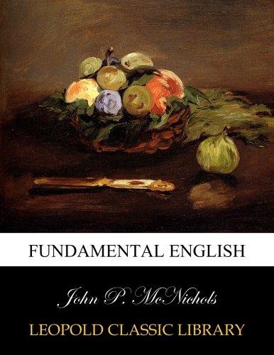 Fundamental English por John P. McNichols
