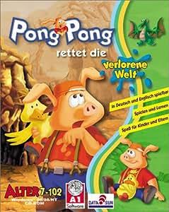 Pong Pong rettet die verlorene Welt. CD- ROM für Windows ab 95/98/ NT