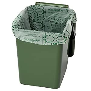 20 litre biodegradable compostable bin liners roll 25. Black Bedroom Furniture Sets. Home Design Ideas