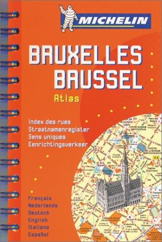 Plan de ville : Bruxelles par Plans de Ville Michelin Europe