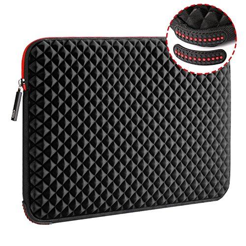 WIWU Laptop hülle 17-17,3 Zoll, Notebooktasche Laptop tasche Schutzhülle Stoßfest Neopren Hülle Reise Tragetasche Handtasche für Laptop/Ultrabook/Notebook/MacBook