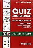 Quiz ministeriali per patente nautica entro 12 miglia e senza alcun limite dalla costa