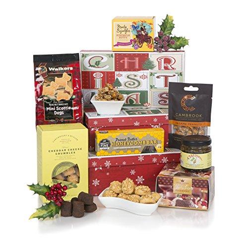 Cesta de Sorpresas Navideñas - Cestas de Navidad y cajas de regalo de Navidad - Cesta festiva para el 2017