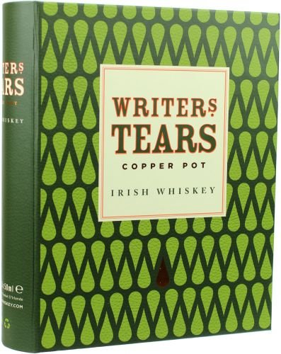 Writers Tears Copper Pot Irish Whiskey Mini-Set in Buchhülle - 3