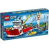 Lego City - 60109 - Le Bateau Des Pompiers