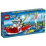LEGO - Barco de bomberos, multicolor (60109)