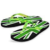 #9: SCATCHITE Men's Printed Green Flip-Flops & House Slippers