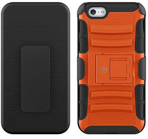 Kabel und Fall iPhone 6S Fall, [Klinge Series]–Heavy Duty Schutz vor Stürzen und–Auch Kompatibel mit Apple iPhone 6[Orange]