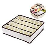 LemonBest® Schubladenunterteilungen Kleiderschrank Veranstalter Bra Unterwäsche Aufbewahrungsboxen