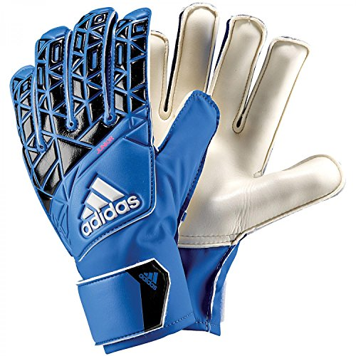 Adidas Ace Junior Guanti da portiere, da bambino, Bambini, Ace Junior, Blue/Core Black/White/Shock Pink S16, 8