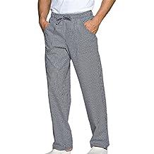pantalón de Chef, para restaurantes y para la Cocina, Uniforme de Trabajo, Pantalones