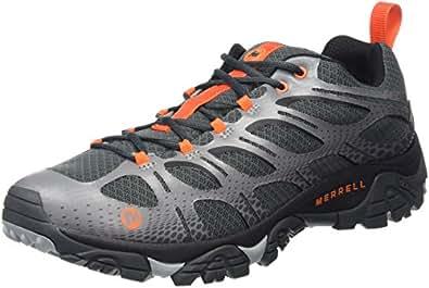 Merrell Moab Edge Waterproof, Chaussures de Randonnée Basses Homme, Gris (Grey), 47 EU