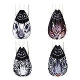 aizhe 3D Print Animal Personalisierte Cool Kordelzug Tasche Sporttasche groß Kordelzug Rucksack Sackpack für Shopping Sport Yoga M katze