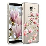 kwmobile TPU Silicone Case for Samsung Galaxy J6 - Crystal