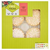 Morrisons Free From Mince Pies, 4 Pack