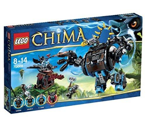 Preisvergleich Produktbild LEGO Legends of Chima 70008 - Gorzans Gorilla-Roboter
