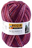 Regia Wolle 6-fädig Color Burgunder, Farbe 4911