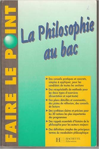 La philosophie au bac pdf epub