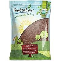 Food to Live Semillas de brócoli Bio para brotar (Eco, Ecológico, Kosher) 3.6 Kg