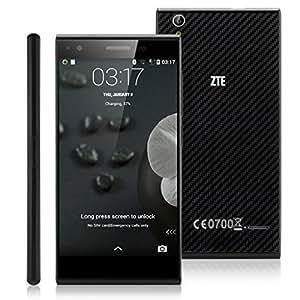 """ZTE Blade Vec Android 4.4 Smartphone 4G noir Quad-Core Qualcomm Snapdragon 400 MSM8926 avec 5.0"""" IPS écran 1280 * 720 Caméra arrière 8.0MP/ frontal 1.0MP support 4G/3G/2G, GPS, WIFI OTG - Compatible avec Orange/ SFR/ Bouygues/Free etc"""