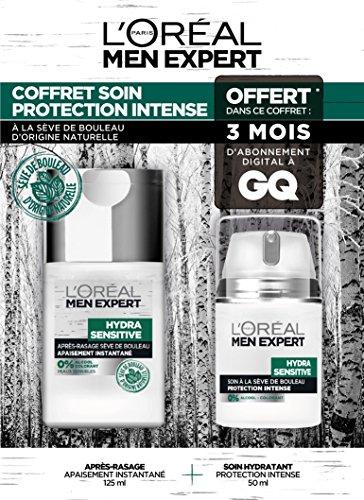 Men Expert Coffret Hydra Sensitive 2 produits + 3 Mois d'abonnement offert à GQ