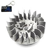 Stoneder Recoil Pull Starter volant d'inertie pour moteur 2temps 47cc 49cc MINI...