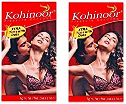 Kohinoor Pleasure Dotted Condom - 20 S��(Set of 2)