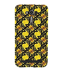 EPICCASE Yellow Flower Mobile Back Case Cover For Asus Zenfone Go (Designer Case)