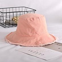 Sombrero De Mujer Sra. Cap Sombrero De Copa Plano Ocasional Del Sombrero  Del Pescador Crudo f6d53f37814