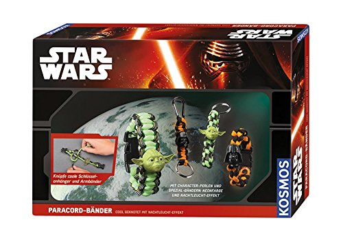 KOSMOS Star Wars 663056 - Paracord-Bänder cool geknotet (Band Star Wars)