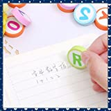 #5: RIANZ All New Imported Colorful Alphabet Eraser (Set of 2)