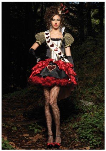 Leg Avenue Deluxe - Deluxe Royal Red Queen,