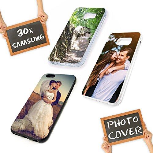 PixiPrints Personalisierte Premium Foto-Handyhülle für Samsung Galaxy-Serie selbst gestalten mit Foto Bedrucken, Hülle:Hardcase/Transparent, Kompatibel mit Handy:Samsung Galaxy S10e