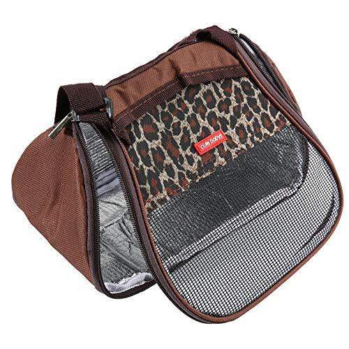 Mode Hamster Ratte Igel Träger Paket Tasche Breathable Mesh Reißverschluss Schlaf Hängenden Beutel für Chinchilla Frettchen Katze - schwarz