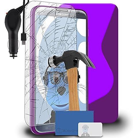 iTALKonline Samsung N7100 Galaxy Note 2 SCH-I605 SCH-R950 SPH-L900 Porpora