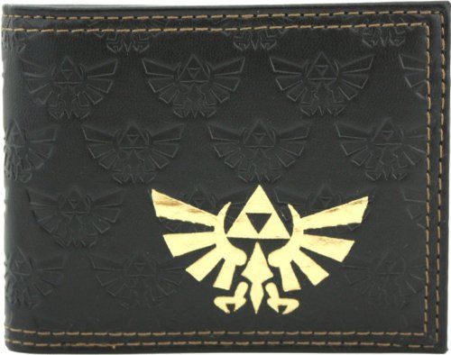 Nintendo Legend of Zelda Twilight Princess Embossed Bi-Fold Portafoglio