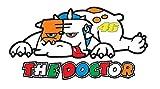 2x Bulldog Valentino Rossi VR Sticker Autocollants Aufkleber The Doctor Turtle 46 Moto GP Racing Bike Yamaha