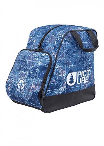 Picture Organic Clothing Shoes Bag Pack de 3 Fundas para Botas de Esquí, Unisex Adulto, Azul, Talla Única