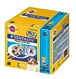 Pedigree DentaStix Hundeleckerli für kleine Hunde, Kausnack mit Huhn- und Rindgeschmack gegen Zahnsteinbildung für gesunde Zähne, 1er Pack (1 x 56 Stück)