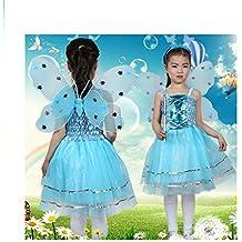 Vestido de hada madrina azul