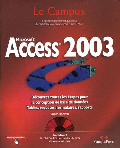 Access 2003 (1Cédérom)