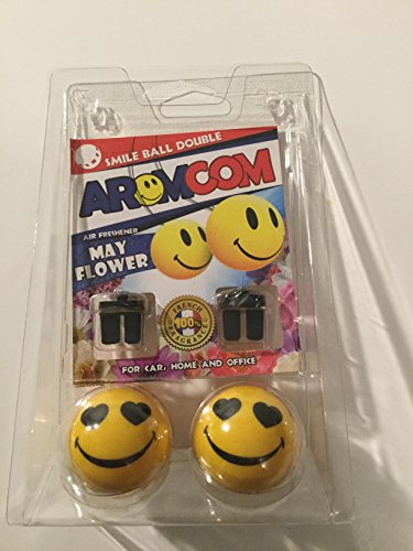 aromcom Deodorante Auto Smile Ball double Mayflow