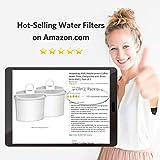 Waterdrop TÜV SÜD zertifiziert Kaffee Filter, kompatibel mit Braun Brita PureAqua KWF2, Braun Braun AromaSelect, AromaPassion, Impression und Somelier Kaffeemaschinen (6)