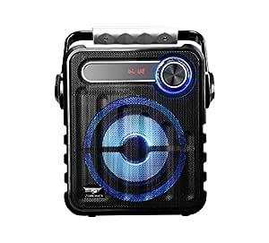 Zebronics Zeb-Buddy Portable BT Speaker with mSD, USB, AUX, FM, LED Display & Carrying Handle.