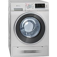 Balay 3TW976X lavadora - Lavadora-secadora (Carga frontal, Independiente, Acero inoxidable, Izquierda, Botones, Giratorio, A)