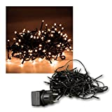 Außen Micro-Lichterkette 180 LED warmweiß, 13,5m