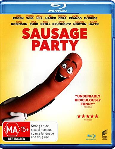 Sausage Party [Blu-ray + Ultra Violet] [NON-USA Format / Region B Import - Australia]