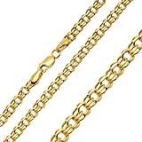 Goldkette Halskette Garibaldikette Kette Collier 585 14KT 60 cm