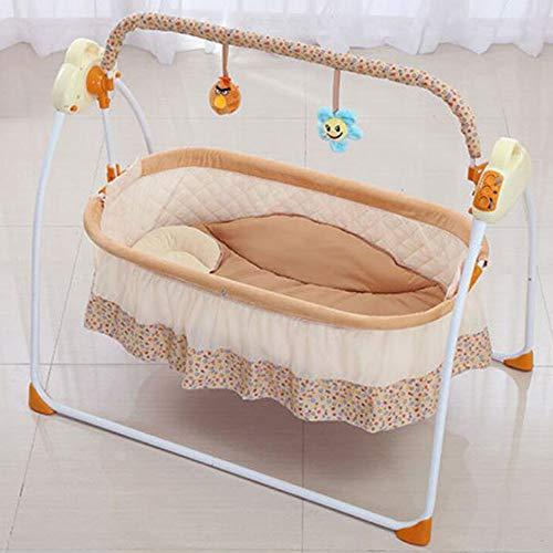 Tcaijing Babyschaukel intelligente elektrische Schaukel Stuhl Wiege Schaukeln Krippe Baby Schaukeln Bett schlafen Artefakt