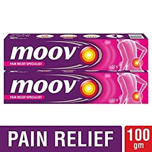 Moov Ointment - 50 g (Pack of 2)